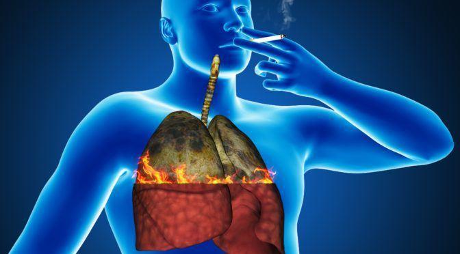rökning dåligt för lungorna